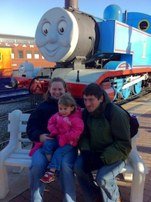 Family Picture at Day Out with Thomas
